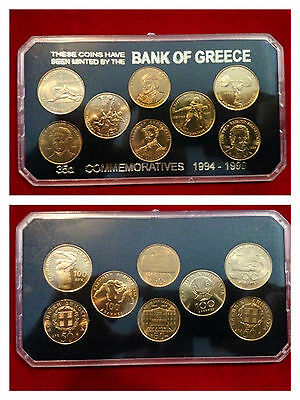 Grecia Set Monete Commemorative 1994/99 Fdc++++++++