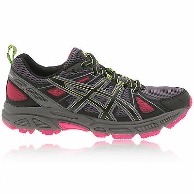 ASICS Gel-Trail Tambora 4 Womens Grey Cushioned Running Sports Trainers Shoes