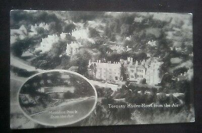 Vintage/Old Postcard.......,,  Torquay, Hydro-Hotel from the Air