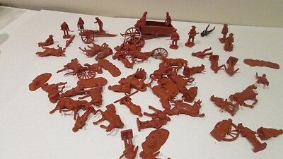 airfix toy soldiers 1/72 scale cowboys