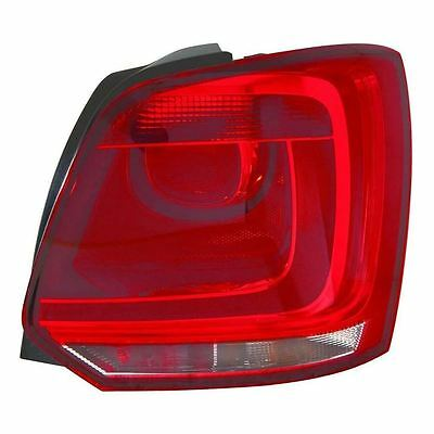 VW Polo Mk5 6R Hatchback 10/2009-7/2014 Rear Back Tail Light Lamp Drivers Side