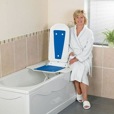 Bathmaster Deltis Bath Tub Lift Blue with FREE Cover and Premium Charger