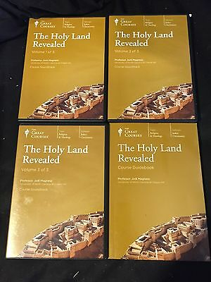 Great Courses- CD & Book Set- The Holy Land Revealed