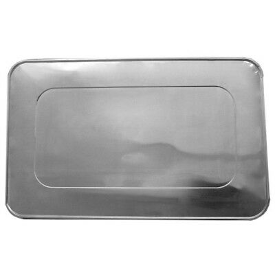 Durable Packaging Aluminum Foil Lids for Aluminum Steam Table Pans, Fits Full-Si