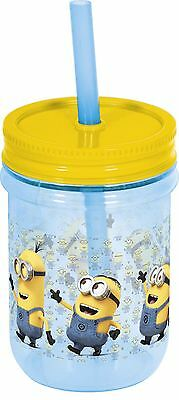Mason Tumbler - Minions Kids Drinking Sipping Cup