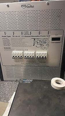 Mode Lighting TIGER TP-10-12  - 12 channel commercial wall mounted dimmer Pack