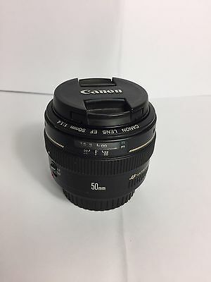 Canon Lens 50mm f/1.4