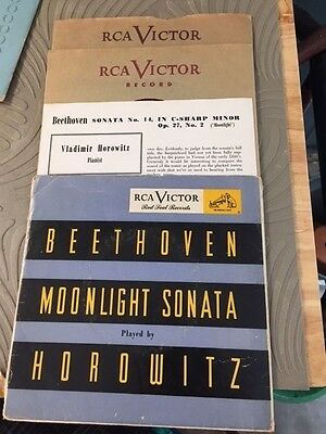RCA Victor Moonlight Sonata The Pines of Rome Red Seal Records