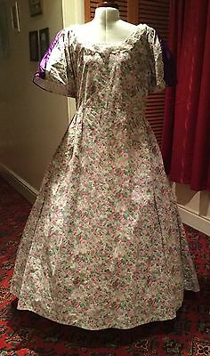 LADIES VICTORIAN STYLE DAY DRESS THEATRICAL STAGE COSTUME - 48 ins CHEST