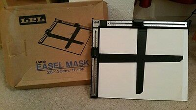 Photography darkroom equipment LPL Easel Mask, 28x35cm/11x14""