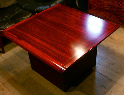 Rare Vejle Stole MidCentury Danish Rosewood Coffee Table Vintage 1960s/70s Retro