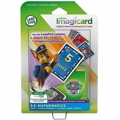 ~NEW~LeapFrog PAW Patrol Imagicard Learning Game for LeapPad2