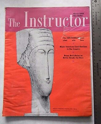 The Instructor Magazine March 1969 Black American Contributions To Usa Article