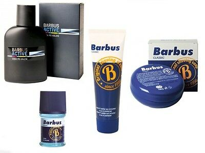 Barbus Aftershave Classic Sport For Men Foamy Cream Glycerin Shaving Since 1956