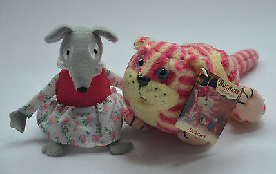 Bagpuss & Lizzie Musical Mouse Gift Set Soft Toy Plush NEW with a Tag