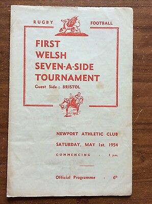 First Snelling Sevens tournament 1954