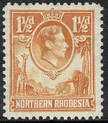 NORTHERN RHODESIA SG30 1941 1½d YELLOW-BROWN MNH
