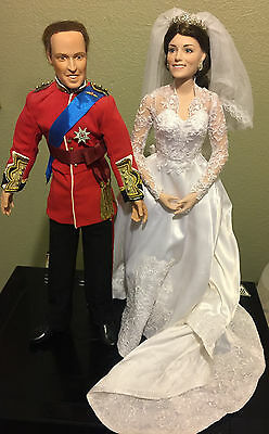 William and kate wedding dolls Limited edition