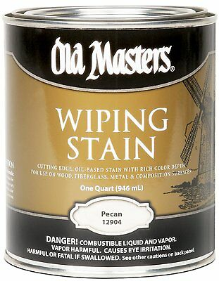 Old Masters Wiping Stain Pecan Quart