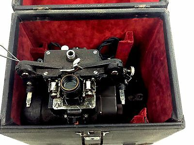 Vintage Bell & Howell Filmo Projector 57-GG 16mm Movie Projector & Case Works