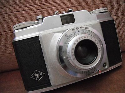 Agfa vintage camera silette pronto made in Germany