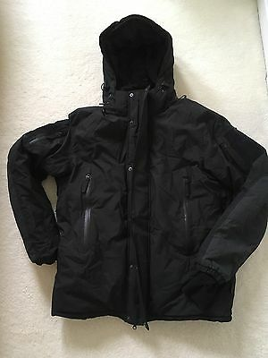 Army Special Forces Carinthia Cold Weather ECIG Black Jacket Sz L New