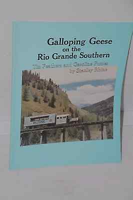 GALLOPING GEESE ON THE RIO GRANDE SOUTHERN by Stanley Rhine