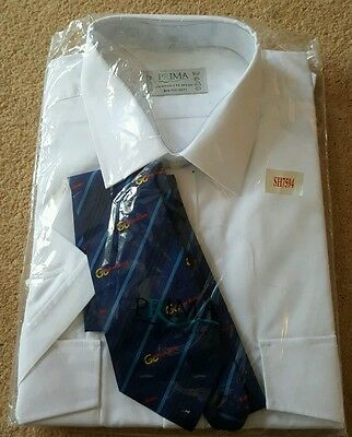 Go wear bus shirt and tie set