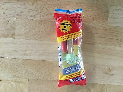 Pez. Dispenser Star Wars Yoda. Sealed Package With Candy
