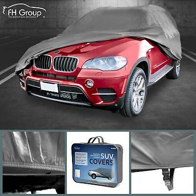 """SUV Car Cover Fits Cars Up to 175"""" Sun UV Snow Dust Rain Resistant Protection"""