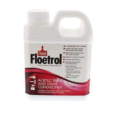 Flood Company Floetrol Acrylic Paint & Stain Conditioner Keeps Paint Flowing 1L