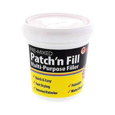 Filler Ready Mix Patch Fast Drying Paintable Interior Exterior Red Devil 500ml
