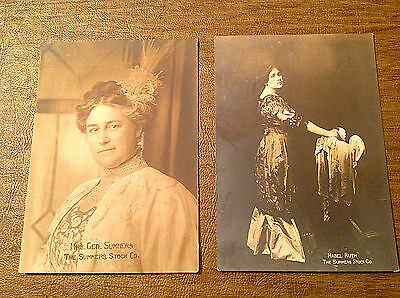 Mabel Ruth & Mrs. George Summers Stock Company Theatre Photos, Hamilton, Ontario