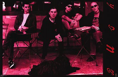 MUSIC POSTER~Bush (The Band) Gavin Rossdale With Band Group Red/Black Original~