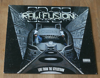 Raw Fusion Live From The Styleetron 1991 Us Lp Hollywood Basic Hb-61236-1