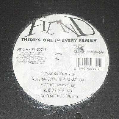Fiend There´s One In Every Family 1998 Us 2Lp No Limit / Priority Records Sealed