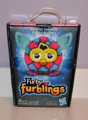 Furby Furbling Critter (Pink and Blue Hearts) - Brand New Free Ship