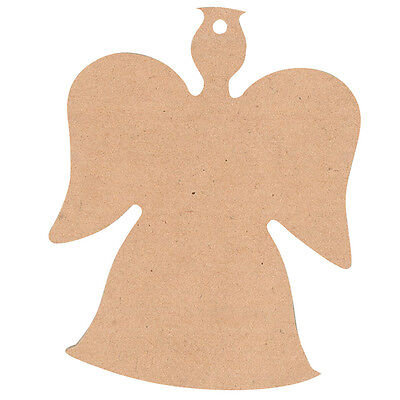 Wooden Christmas Angel  Pack of 12