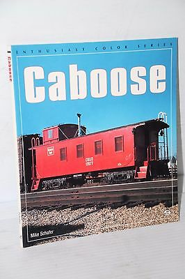 CABOOSES Enthusiast Color Series by Mike Schafer  **NEW**