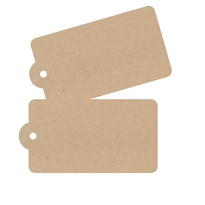 Natural Cardboard Gift Tags  Pack of 48