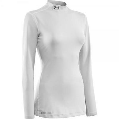 Under Armour Maglia termica donna Coldgear Fitted Mock Intimo Sci 1215968-100