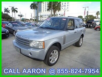 2008 Land Rover Range Rover WE SHIP, WE EXPORT, WE FINANCE 2008 LAND ROVER RANGE ROVER HSE LUXURY SUV LOOKS AND DRIVES GREAT CLEAN CARFAX!!