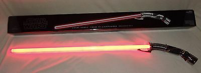 Star Wars COUNT DOOKU Force FX Lightsaber Hasbro Signature Series Red  NEW