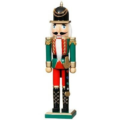 Christmas Nutcracker Wooden Soldier Deluxe 38 Cms ...new!!