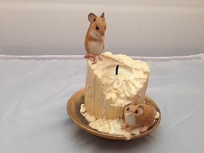 BNIB New Boxed Mouse Encounters MICE ON CANDLE STICK #03862 Country Artists