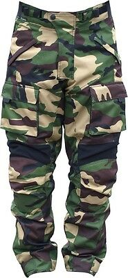 Black Ash Mens Motorcycle Pants Textile Cordura Armored Green Size 34