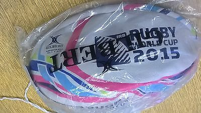 New and bagged Gilbert Rugby World Cup 2015 Sz 5 Supporters Ball