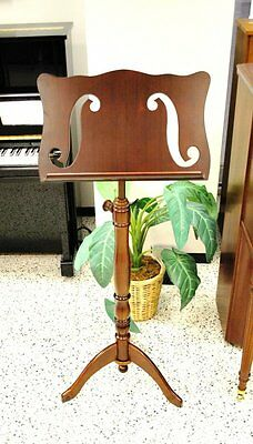 Frederick Wooden Music Stand Violin F Hole