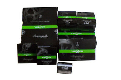New 2014 Campagnolo Veloce Black 10 Speed Triple Group Set 172.5mm 9 piece