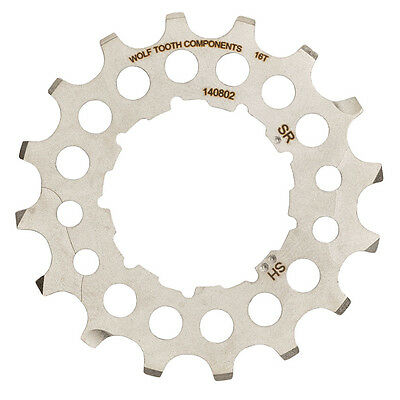 New 2016 Wolf Tooth 16 Tooth Cog for Sram or Shimano Giant Cog 1 x 10
